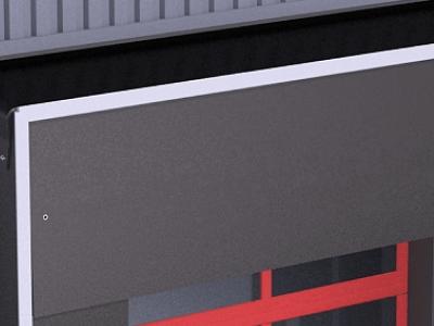 Удлиненный верхний тент 1500мм